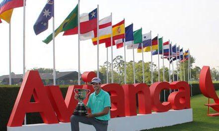 Justin Hueber campeón del 69º Avianca Colombia Open presentado por BBVA