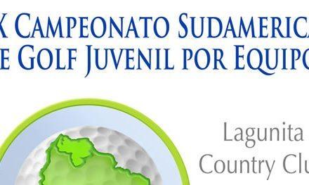 Seis jugadores por Venezuela en Sudamericano Juvenil de Golf