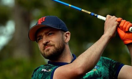 Video, Timberlake canta y baila en el Pebble Beach ProAm