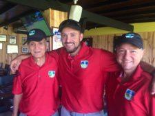 3er Carlos Marín, 1ro Carlos Gonzales y 2do Juan Pablo Giliberti