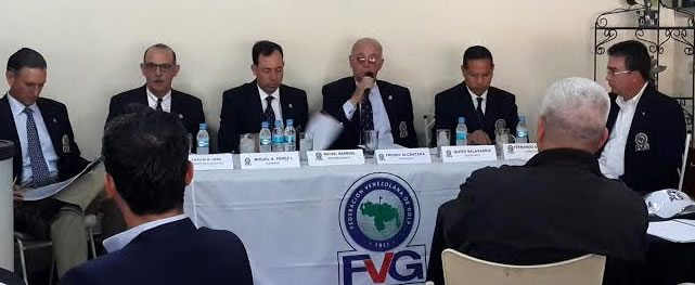 Por primera vez la Asamblea General del Golf se realiza fuera de Caracas