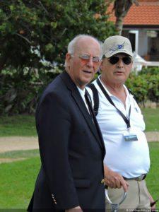 Ex-Presidentes de la FVG, Freddy Alcántara y Ricardo Zuluaga en el LAAC 2016
