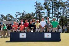 Ganadores DCP 2016 con Autoridades R&A, USGA & Masters (cortesía Augusta National Inc.)