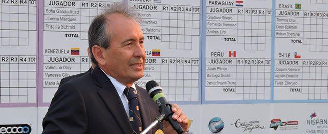 Federación Sudamericana de Golf felicitó a Venezuela