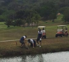 How many mediocres are needed to play ONE golf ball