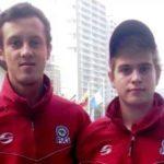 Juveniles Konrad Braukmeyer y Alejandro Restrepo  (cortesía www.fvg.org)