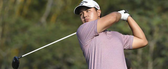 Young Kim se mantuvo líder al completar 36 hoyos