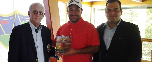 Ezequiel Prieto se coronó campeón del 2do torneo de la Gira Mid-Amateur 2016