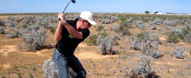 La cancha de golf más larga del mundo