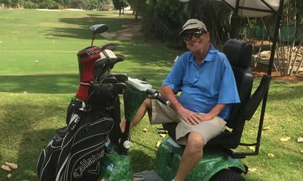 """""""La incapacidad física es lo más fácil de superar y el golf es hoy mi pasión"""""""