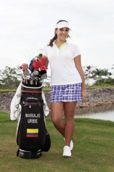 Mariajo Uribe, única colombiana en el US Women's Open (cortesía mariajouribe.com.co)