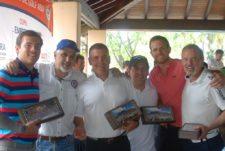 Campeones 3ra Cat. Rafael García, Gustavo García, Héctor García Padre e hijo, junto a Guillermo Ochoa y Rolando Hernández (ASIA)