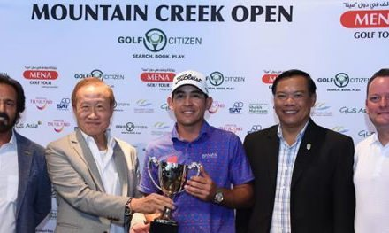Wolmer Murillo gana el Mountain Creek Open de Tailandia