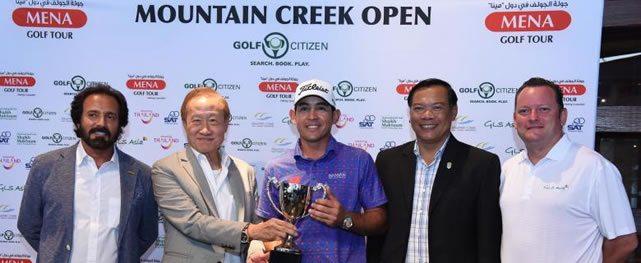 Wolmer Murillo gana el Mountain Creek Open de Tailandia