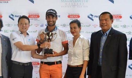 Wolmer Murillo logró 2do lugar del Masters de MahaSamutr