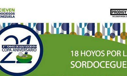 """5to. Torneo de Golf SOCIEVEN –  """"Copa 21° Aniversario"""""""