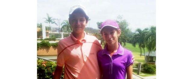 Agatha Alesson y Mauro Stanchieri vencieron en el clasificatorio Sudamericano Pre Juvenil