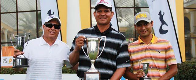Campeonato Nacional de Profesionales de Colombia, corona campeón a Álvaro Pineda