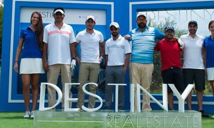 "Destiny Real Estate participó dentro del torneo ""Golf for Good"" en apoyo a la Fundación Paralife"