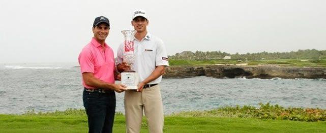 Domenic Bozzelli logra el primer lugar en el Corales Punta Cana Resort and Club Championship