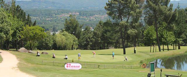 Este fin de semana el golf ha sido el protagonista en las tierras orensanas