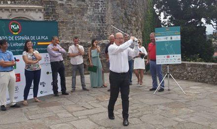 """El Año Jubilar Lebaniego está muy unido al golf"""", dijo el alcalde de Potes, Javier Gómez"""