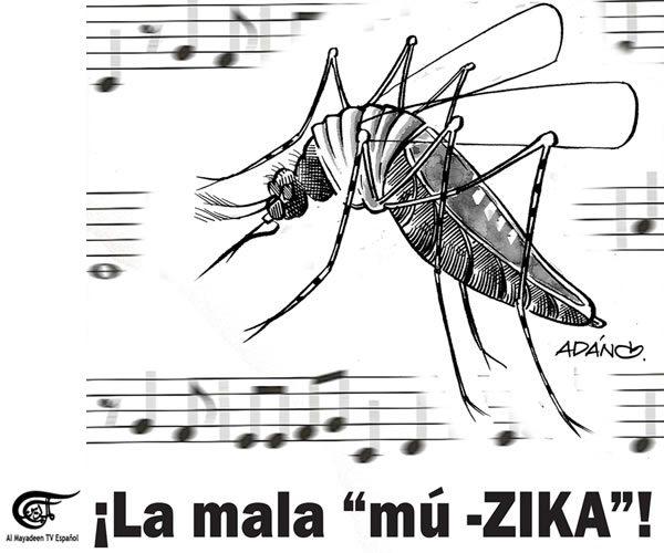 ¿El Zika o el dinero? Ahí está el dilema (cortesía espanol.almayadeen.net)