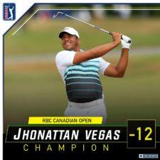 Jhonattan Vegas (cortesía PGA Tour)