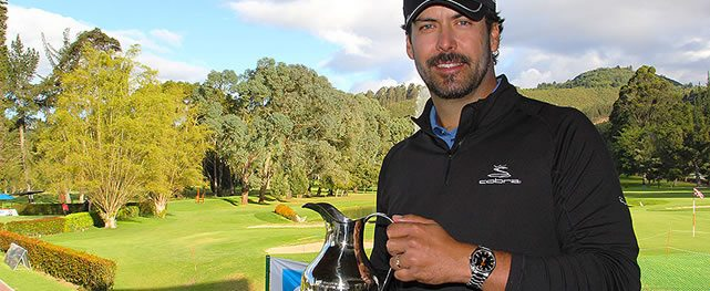 José Manuel Garrido logra su tercera victoria en el Abierto del Club Militar de Golf