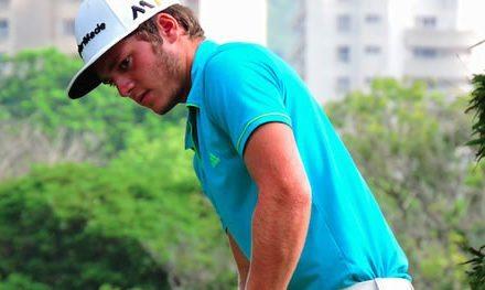 Marrero inspirado en Clasificatorio de golf para Copa Los Andes