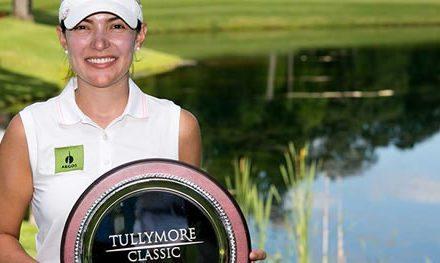 Paola Moreno resulta triunfadora en el Tullymore Classic