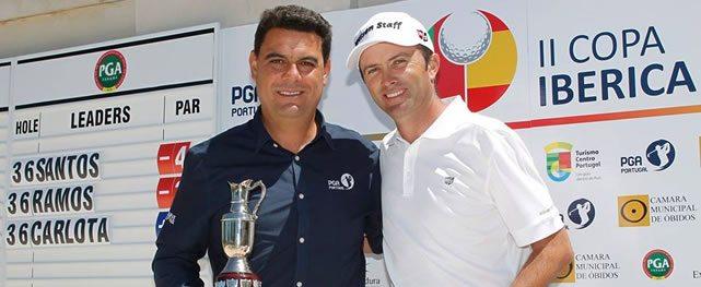 Portugal hace doblete en la II Copa Ibérica en Guardia Bom Sucesso Golf, Lisboa