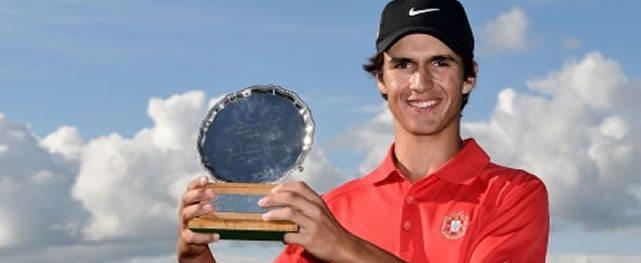 Portugués Pedro Lencart Silva ganó el Junior Open de Kilmarnock