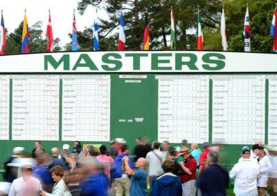 1er día de Práctica Masters 2015 (cortesía © Augusta National 2015)