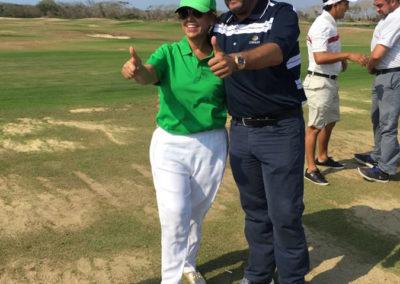 Clínica de golf en el Servientrega Championship by Efecty