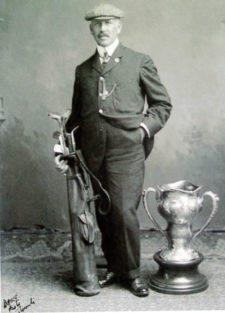 George S. Lyon ganó la medalla de Oro Olímpica en 1904 (cortesía lambtongolf.com)