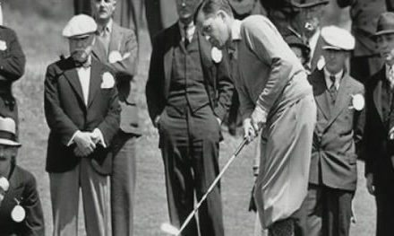 El backswing del Golf Olímpico
