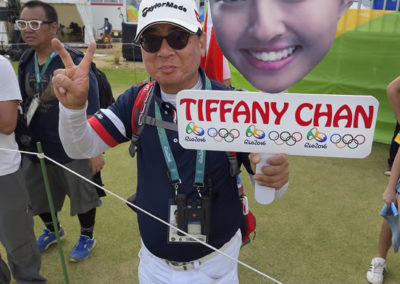 Fans de Tiffany Chan de Hong Kong (cortesía Stan Badz/PGA TOUR/IGF)