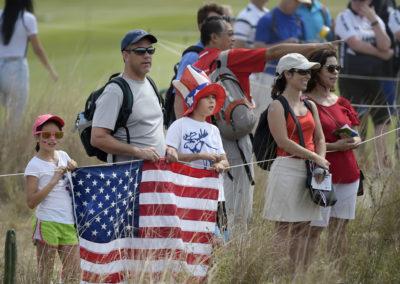 Fans disfrutan el juego (cortesía Stan Badz/PGA TOUR/IGF)