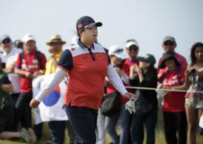 Shanshan Feng de China (cortesía Stan Badz/PGA TOUR/IGF)