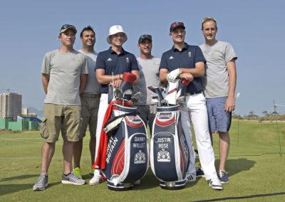Danny Willet y Justin Rose (Photo Chris Condon/PGA TOUR/IGF)