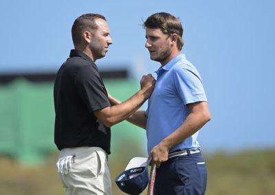 Sergio Garcia y Emiliano Grillo (Photo Chris Condon/PGA TOUR/IGF)