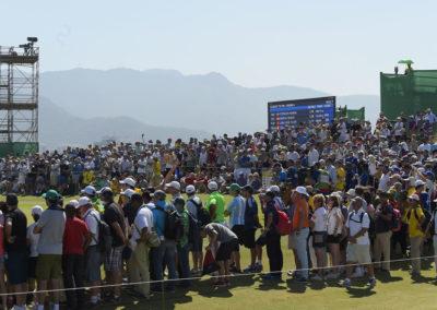 Fans disfrutando el torneo (Photo by Stan Badz/PGA TOUR/IGF)