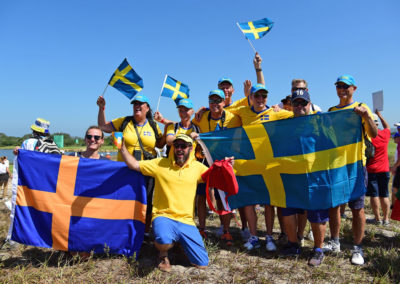 Fans de Suecia (Photo by Chris Condon/PGA TOUR/IGF)