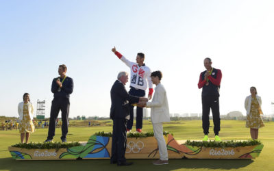Galería Golf Olímpico masculino Río 2016