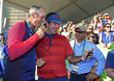 Matt Kuchar y Bubba Watson (Photo Chris Condon/PGA TOUR/IGF)