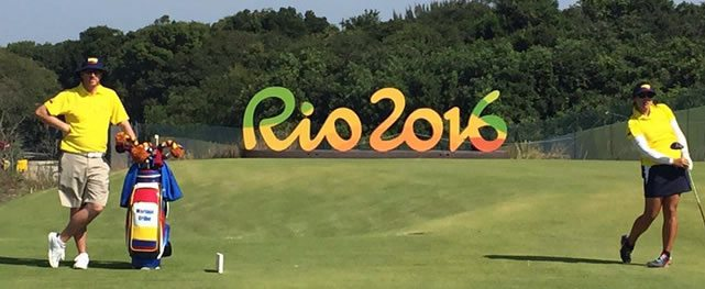 Golfistas consideran una gran experiencia su primera incursión en los JJ.OO