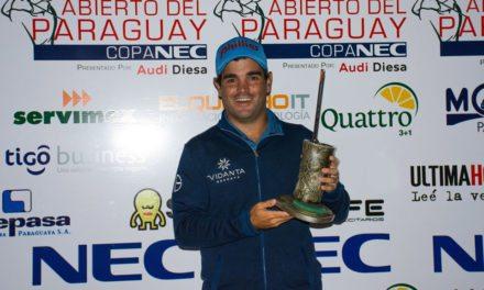 Horacio León es el campeón del Abierto del Paraguay Copa NEC presentado por Diesa Audi