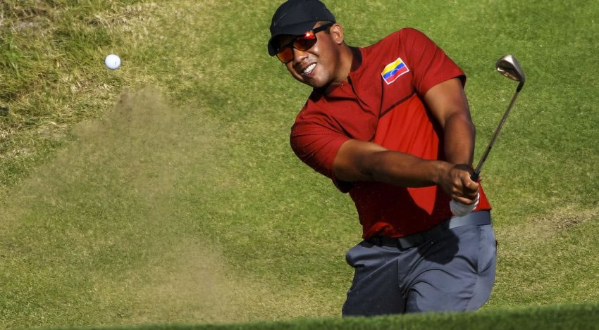 Jhonattan Vegas encaminado en los playoff del PGA Tour