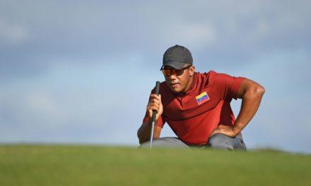 Jhonattan Vegas y otros latinos destacan para asegurar estar en el PGA